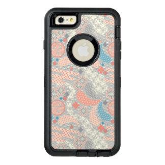 Japanese style pattern. Illustration. OtterBox Defender iPhone Case