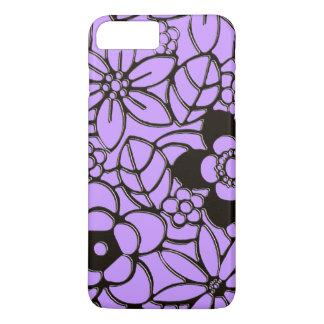 Japanese style rich floral pattern iPhone 8 plus/7 plus case