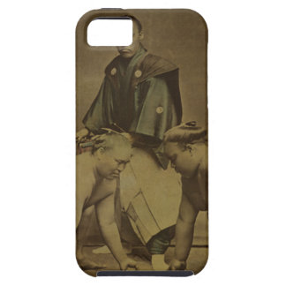Japanese Sumo Wrestlers 1867 iPhone 5 Cover