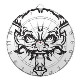 Japanese Tattoo Oni Demon Dartboard