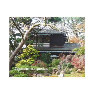 Japanese Tea Garden Canvas Prints