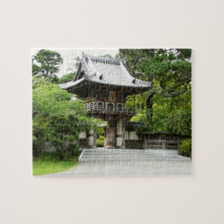 Japanese Tea Garden in San Francisco Jigsaw Puzzle
