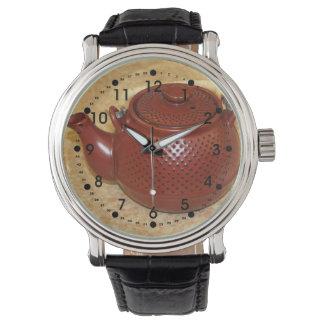 Japanese Teapot Wristwatch