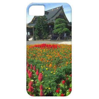 Japanese temple flower garden iPhone 5 covers