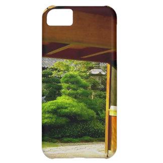 Japanese temple garden iPhone 5C case