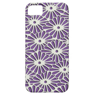 Japanese textile Diamond Chrysanthemums Barely There iPhone 5 Case