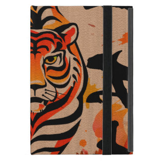 japanese tiger art cover for iPad mini