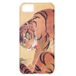 Japanese Tiger Woodblock Vintage Art Ukiyo-E iPhone 5C Covers