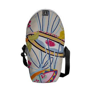 Japanese traditional pattern - matsuri commuter bags