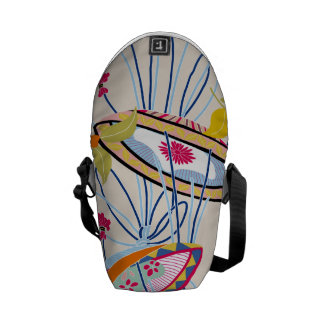 Japanese traditional pattern - matsuri commuter bags