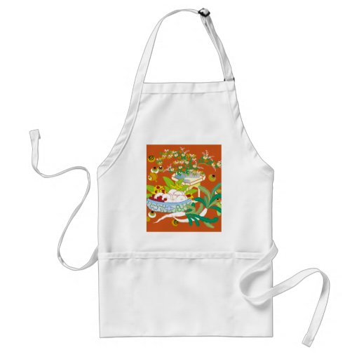 Japanese traditional pattern - Offerings to God Aprons