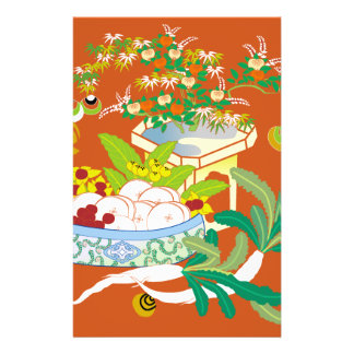 Japanese traditional pattern - Offerings to God Custom Flyer