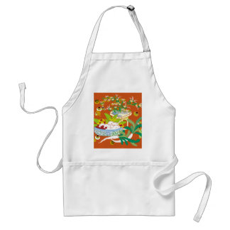 Japanese traditional pattern - Offerings to God Standard Apron