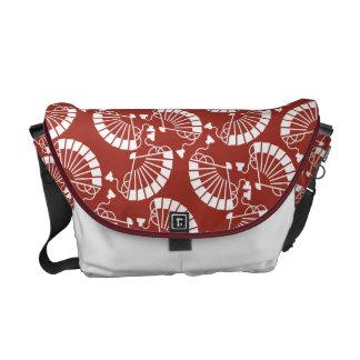 Japanese traditional pattern - SENSU Messenger Bags