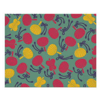 Japanese traditional pattern - UCHIWA フルカラーチラシ
