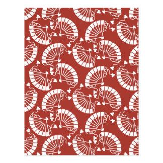 Japanese traditionl pattern - SENSU Flyer