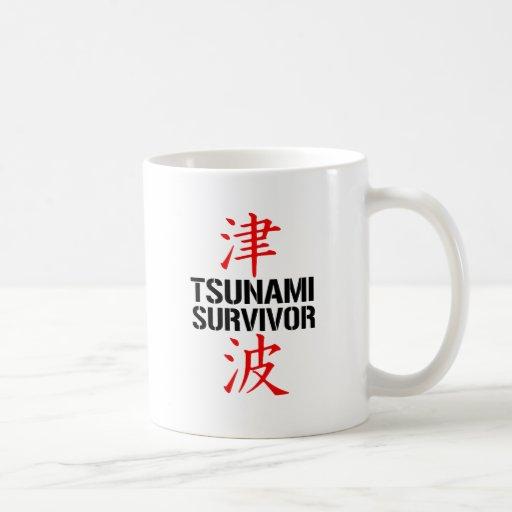 JAPANESE TSUNAMI SURVIVOR MUG