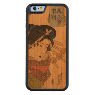 Japanese Ukiyo-e Woodblock Print Series Four Carved Cherry iPhone 6 Bumper Case