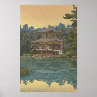 Japanese Ukiyoe Art(Hiroshi Yoshida) Poster