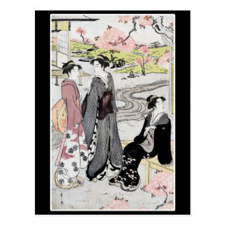 Japanese Vintage Art #1 Postcard