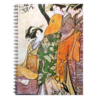 JAPANESE VINTAGE ART NOTEBOOKS