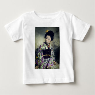 Japanese Vintage Geisha Beauty Magic Lantern Slide Shirt