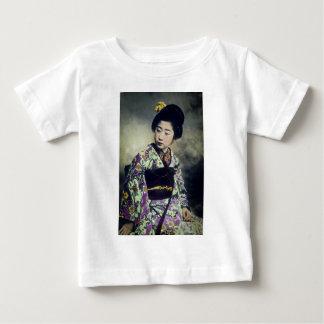 Japanese Vintage Geisha Beauty Magic Lantern Slide Shirts
