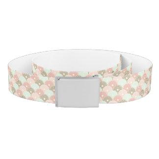 Japanese vintage pattern belt