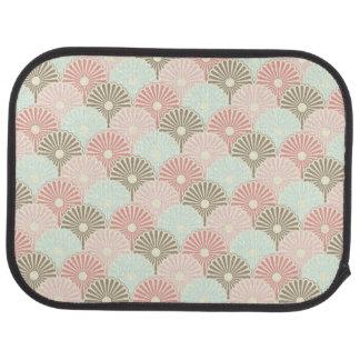 Japanese vintage pattern car mat