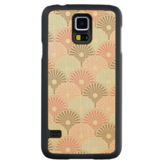 Japanese vintage pattern carved maple galaxy s5 case