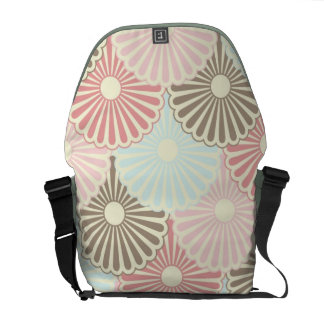 Japanese vintage pattern courier bags