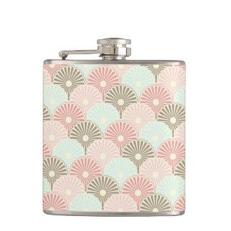 Japanese vintage pattern hip flask