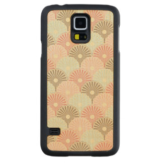 Japanese vintage pattern maple galaxy s5 case