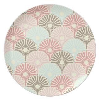 Japanese vintage pattern plate