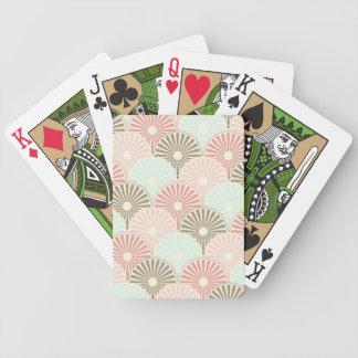 Japanese vintage pattern poker deck