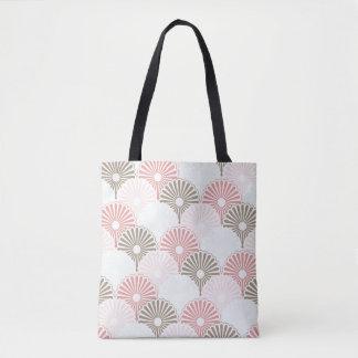 Japanese vintage pattern tote bag