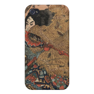 Japanese Warrior Art circa 1800s iPhone 4/4S Case