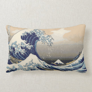 Japanese Wave Lumbar Pillow