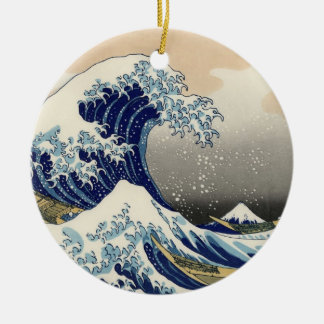 Japanese Wave Ornament