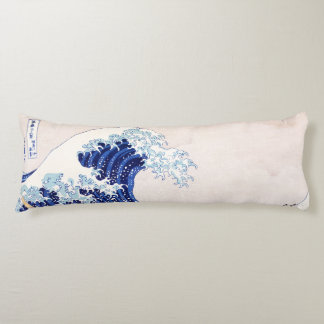 Japanese Waves Body Pillow