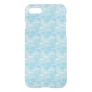 Japanese Waves Pattern in Ocean Colors iPhone 8/7 Case