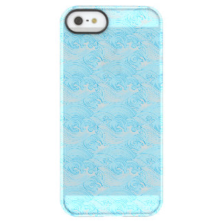 Japanese Waves Pattern in Ocean Colors Permafrost® iPhone SE/5/5s Case