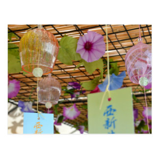 Japanese Wind-chimes (fuurin) Postcard