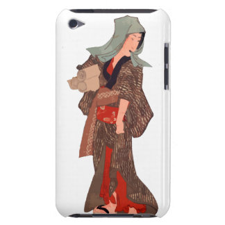 Japanese Woman Barely There iPod Covers