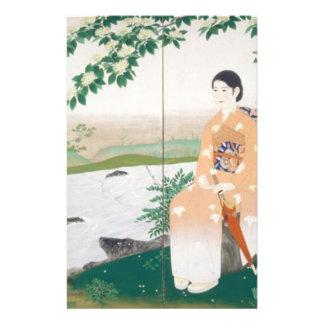 japanese woman stationery