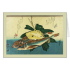 Japanese Woodblock Card