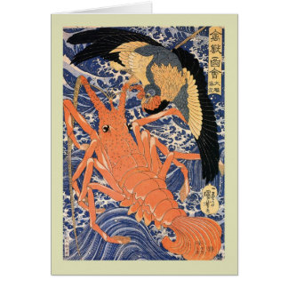 Japanese Woodblock Card