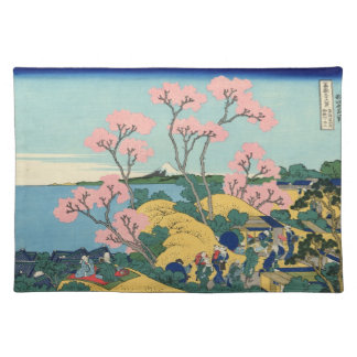 Japanese Woodblock: Fuji from Gotenyama Placemat
