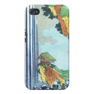 Japanese woodblock print cover for iPhone 4