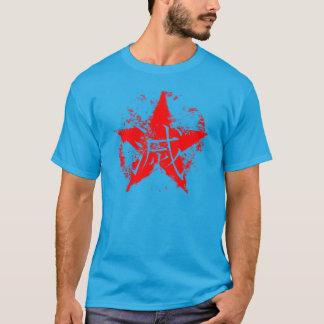 """Japanese writing for """"destruction"""" inside star T-Shirt"""